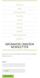 Hot and More hat Newsletter als neuen Baustein im Blog integriert – Hot and More – Hot and More – Thomas Kadel – Hot and More Fotografie – Thomas Kadel Fotografie