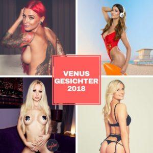 Gesichter der Venus 2018 Micaela Schäfer, Lucy Cat, Schnuggie91 und Lexy Roxx