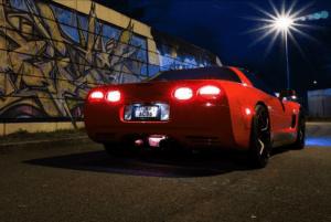 Hot and More - Corvette-Shooting und Geile Babes mit Tattoo Models & Amateur Pornostars